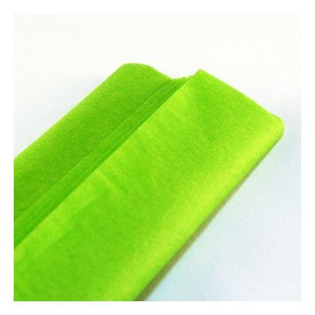 feuille papier de soie mousseline vert anis 50x75 cm emballage garrigou. Black Bedroom Furniture Sets. Home Design Ideas