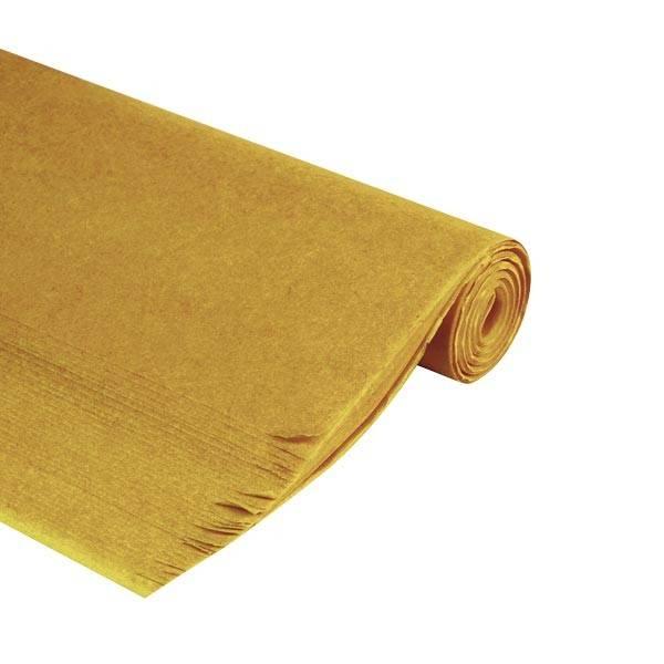feuille papier de soie mousseline dor or 50x75 cm emballage garrigou. Black Bedroom Furniture Sets. Home Design Ideas