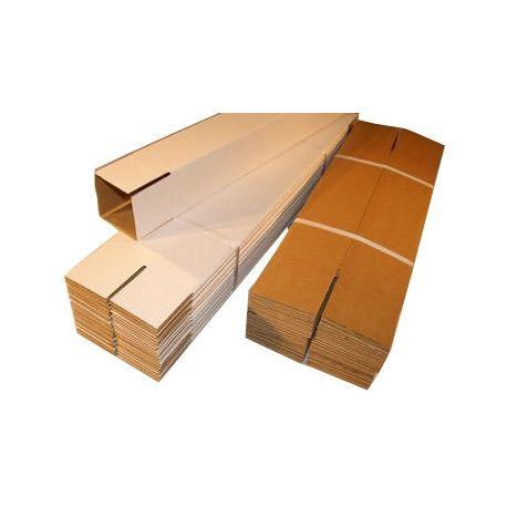 Tubes carton carré postal 120x120x430 m/m