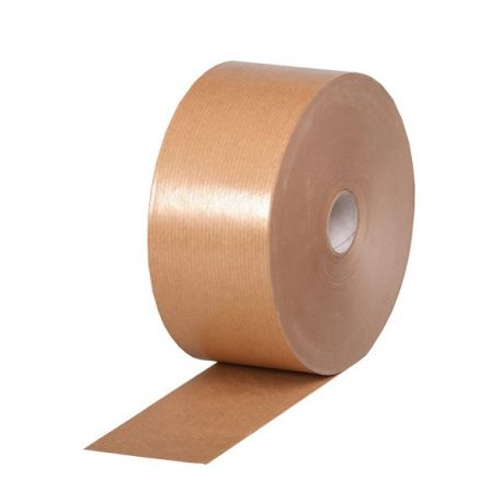 Ruban adhésif kraft gommé brun 48 m/m x200 ml 80 grs m²