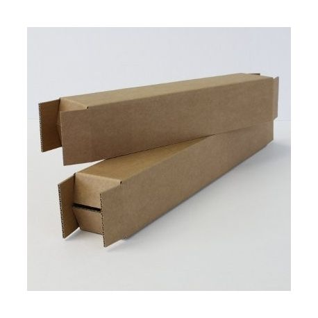Tubes étuis carré en carton 170x170x610 m/m